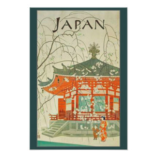 Vintage Japanese Travel Poster