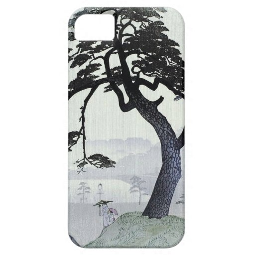 Vintage Japanese Tree iPhone 5 Cover