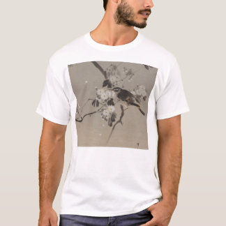 Vintage Japanese Ukiyo-e  Painting of A Bird T-Shirt