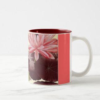 Vintage Japanese Watercolor 1879-1928 Two-Tone Coffee Mug