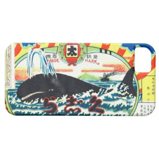Vintage Japanese Whale Meat Can Label iPhone SE/5/5s Case