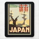 Vintage Japón de Mousepad Tapete De Ratones