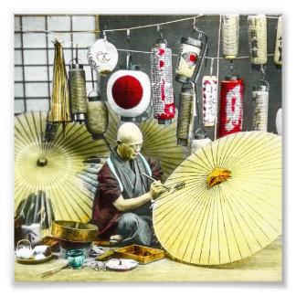 Vintage japonés de no. 2 del fabricante del fotografías