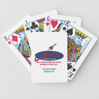 Vintage Jarts Customizable Playing Cards
