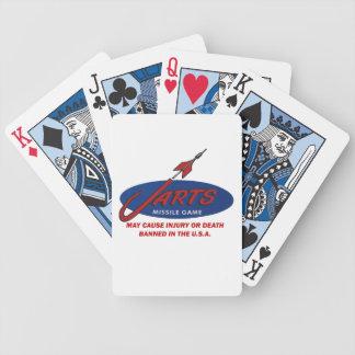 Vintage Jarts Playing Cards