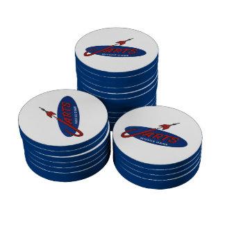 Vintage Jarts Poker Chips