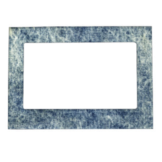 Vintage Jean Texture Magnetic Picture Frame