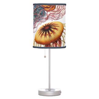 Vintage Jellyfish, Discomedusae by Ernst Haeckel Lamp