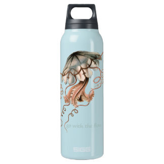 Vintage Jellyfish Insulated Water Bottle