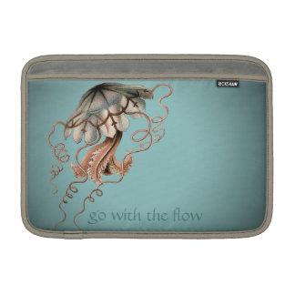 Vintage Jellyfish MacBook Air Sleeves