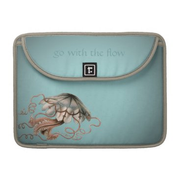 JoyMerrymanStore Vintage Jellyfish MacBook Pro Sleeve