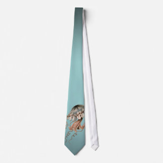 Vintage Jellyfish Neck Tie