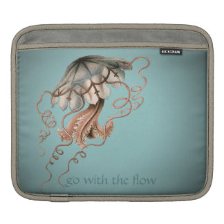 Vintage Jellyfish Sleeve For iPads