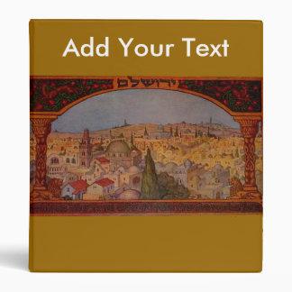 "Vintage Jerusalén Carpeta 1"""