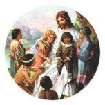 Vintage Jesus Loves All the Children Sticker