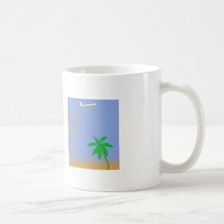 Vintage Jet Travel on a Coffee Mug
