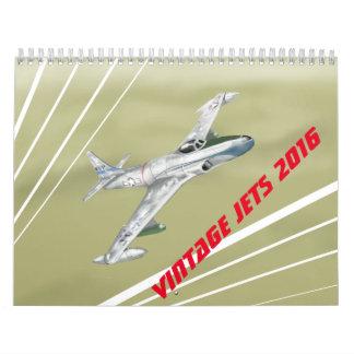 Vintage Jets Calendar 2016