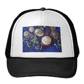 Vintage Jewelry Mesh Hats