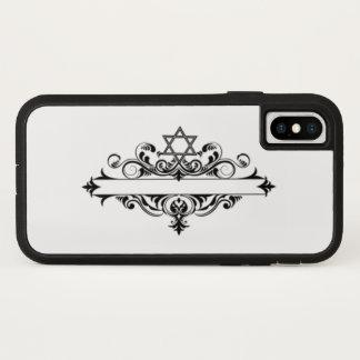 Vintage Jewish Header iPhone X Case