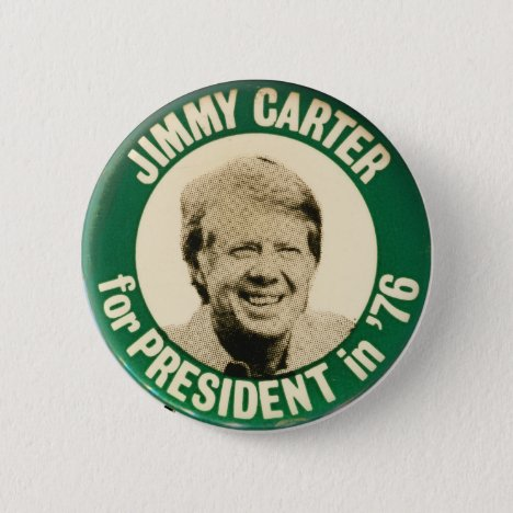 Vintage jimmy Carter for President 1976 Button