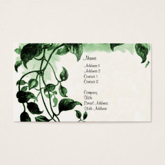 Vintage Job Bible Verse Business Card
