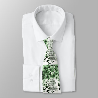 Vintage Job Bible Verse Tie