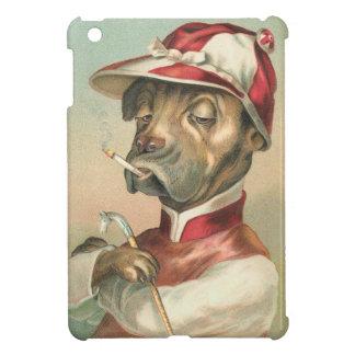 Vintage Jockey Dog iPad Mini Cases