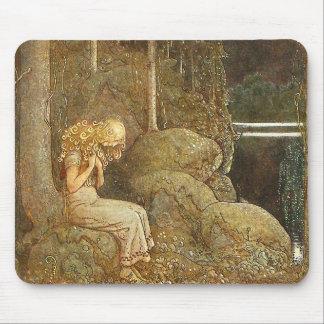 Vintage John Bauer Fantasy / Fairy Tale Art Mouse Pad