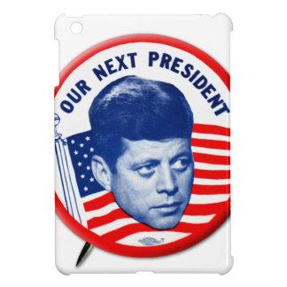 Vintage John Kennedy Our Next President Button Case For The iPad Mini