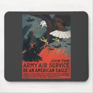 Vintage Join the Army Air Service Mouse Pad