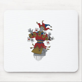 Vintage Joker Mouse Pad