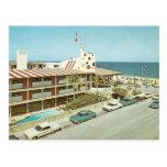 Vintage Jolly Roger Hotel Ft. Lauderdale Florida Postcard