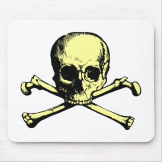 Vintage Jolly Roger Mouse Pad