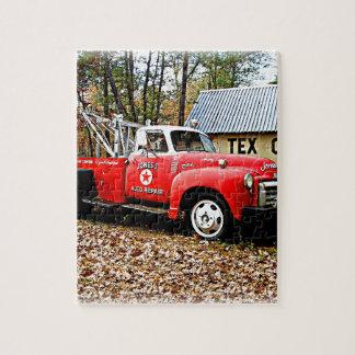 Vintage Jones Tow Truck Puzzle