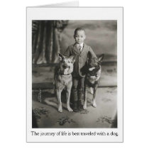 Vintage - Journey of Life with Dogs,