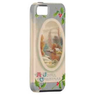 Vintage Joyful Christmas iPhone 5 Cover