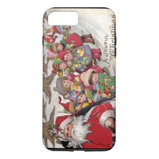 Vintage Joyful Christmas iPhone 8 Plus/7 Plus Case