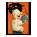 Vintage Joyful Halloween Baby Postcards