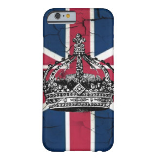 vintage jubilee british flag union jack crown barely there iPhone 6 case