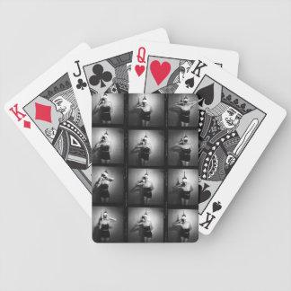 Vintage JuJu Rose Bicycle Playing Cards