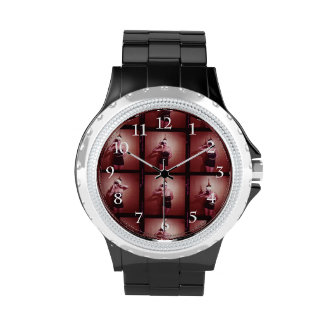 Vintage JuJu subió Relojes De Mano