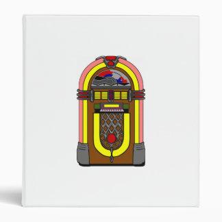 Vintage Jukebox Binder