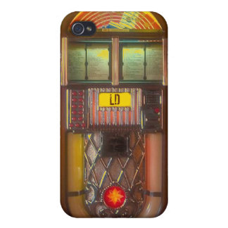 Vintage Jukebox music player iPhone 4 Cover