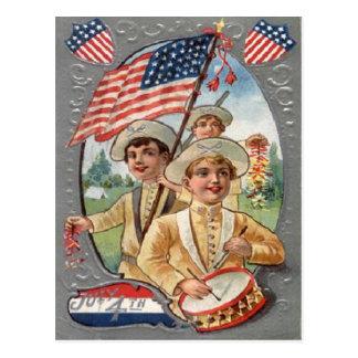 Vintage July 4th Celebration Postcard