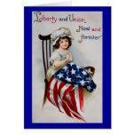 Vintage July 4th Greeting Card 4