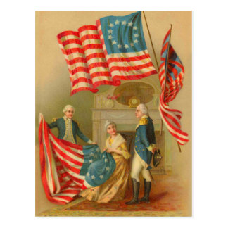 Born On The 4th Of July Cards Vintage 4th Of ...