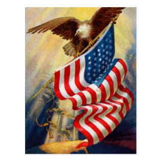 Vintage July 4th Postcard at Zazzle