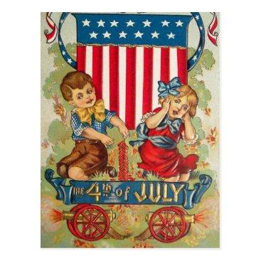 golden_oldies Vintage July 4th Postcard