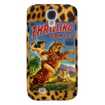 Vintage Jungle Comic Cover Galaxy S4 Cases