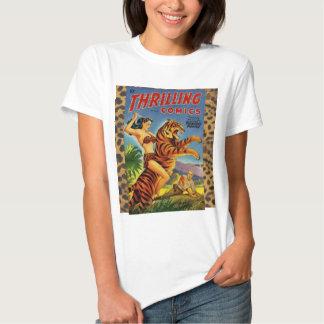 Vintage Jungle Comic Cover Tshirt